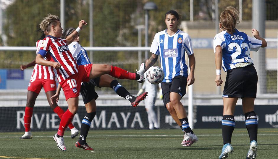 Temporada 20/21 | Espanyol-Atlético de Madrid Femenino | Amanda