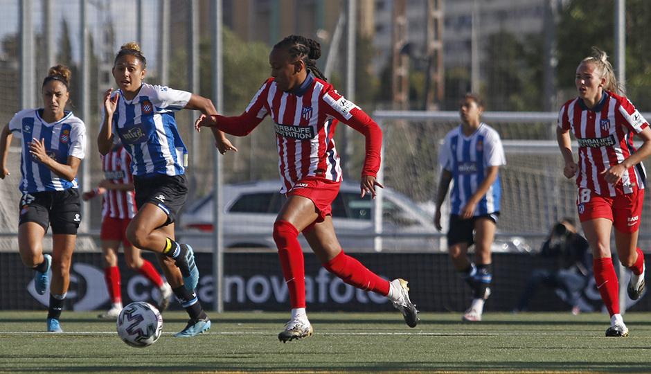Temporada 20/21 | Espanyol-Atlético de Madrid Femenino | Emelyne Laurent