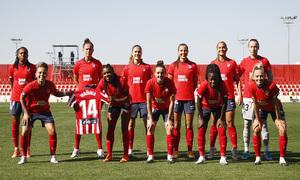 Temporada 2020/21   Atlético de Madrid Femenino - Granadilla   Once