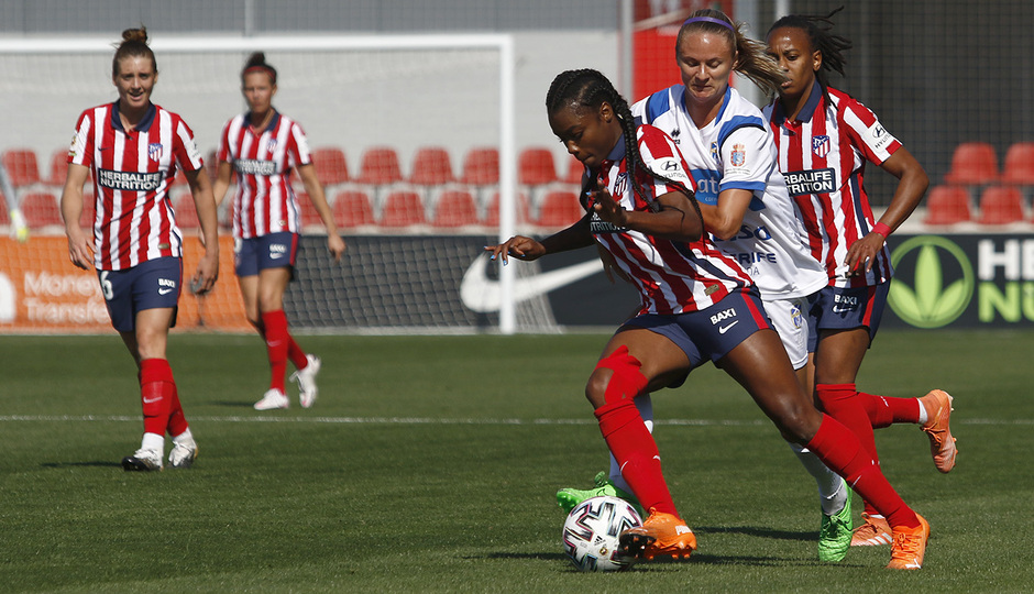 Temporada 2020/21 | Atlético de Madrid Femenino - Granadilla | Ludmila
