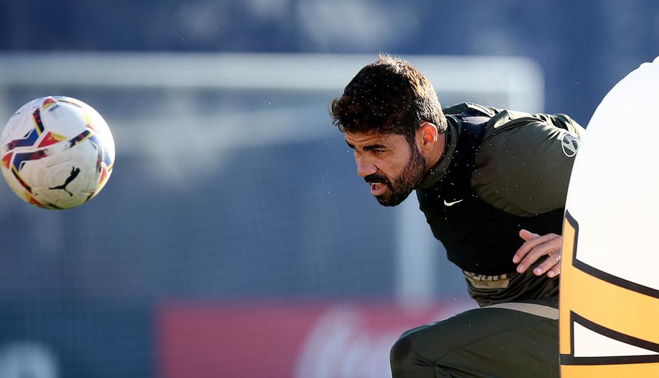 Temporada 2020/21 | Entrenamiento 13-10-20 | Diego Costa