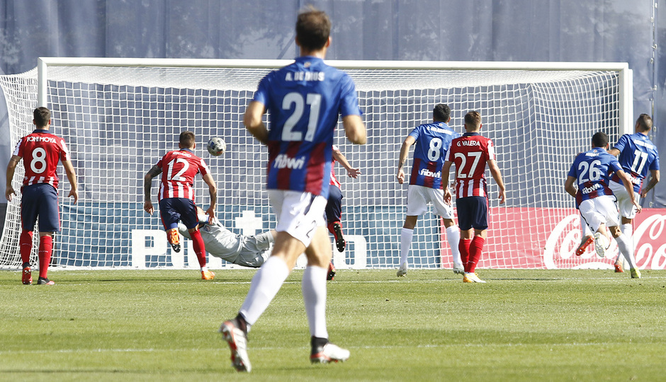Temp 2020/21 | Atlético de Madrid B - Poblense | San Román