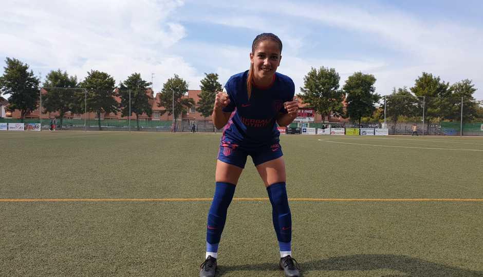 Temp. 20-21 | Santa Teresa - Atlético de Madrid Femenino | Debut Elena Martínez