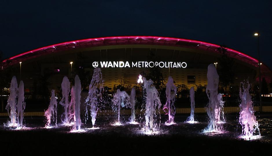 Temp. 20-21 | Wanda Metropolitano día mundial Cáncer de Mama.