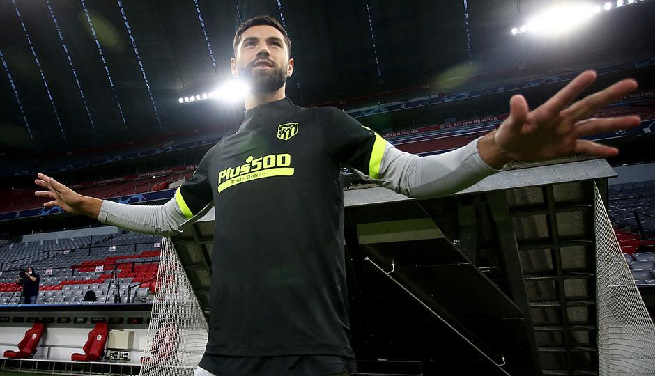 Temp: 20-21 | Entrenamiento en Múnich | Liga de Campeones | Felipe