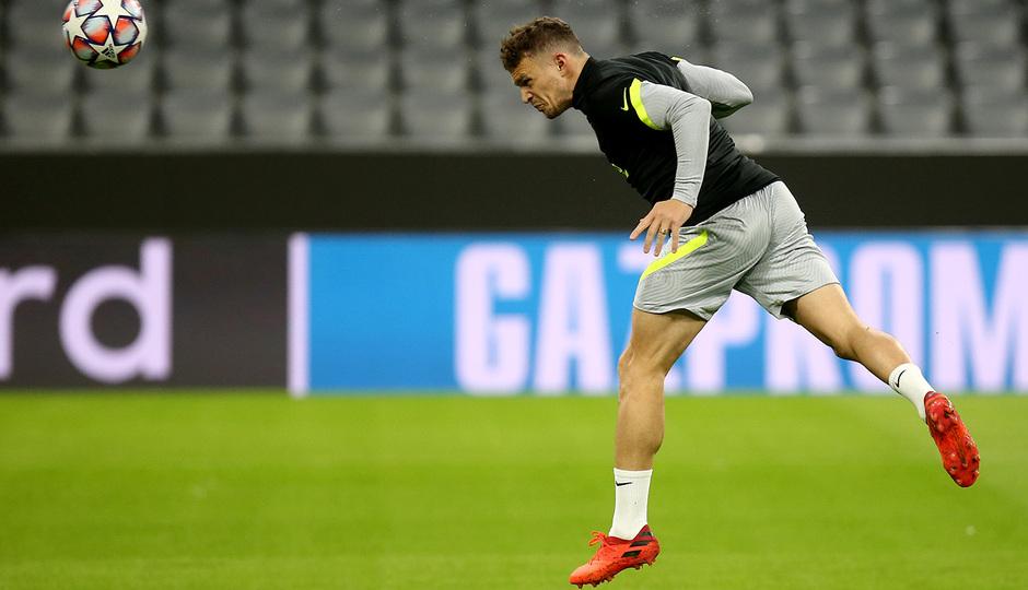 Temp: 20-21 | Entrenamiento en Múnich | Liga de Campeones | Trippier