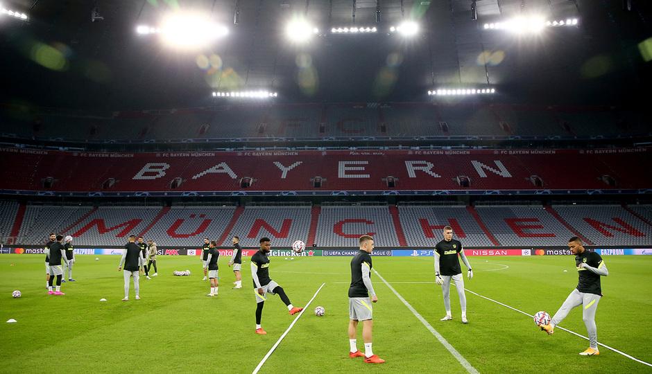 Temp: 20-21 | Entrenamiento en Múnich | Liga de Campeones