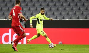 Temp. 20-21   Bayern Munich - Atlético de Madrid   Carrasco