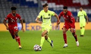Temp. 20-21   Bayern Munich - Atlético de Madrid   Llorente