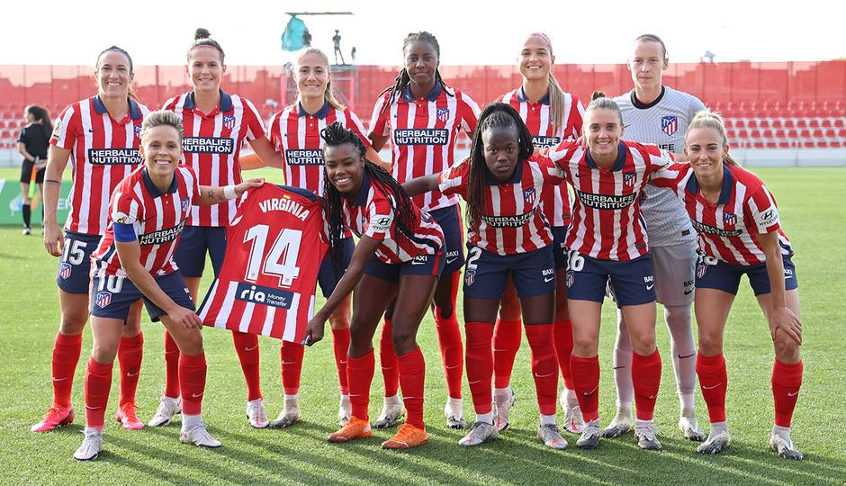 Temp. 20-21 | Atleti Femenino-Logroño | Once