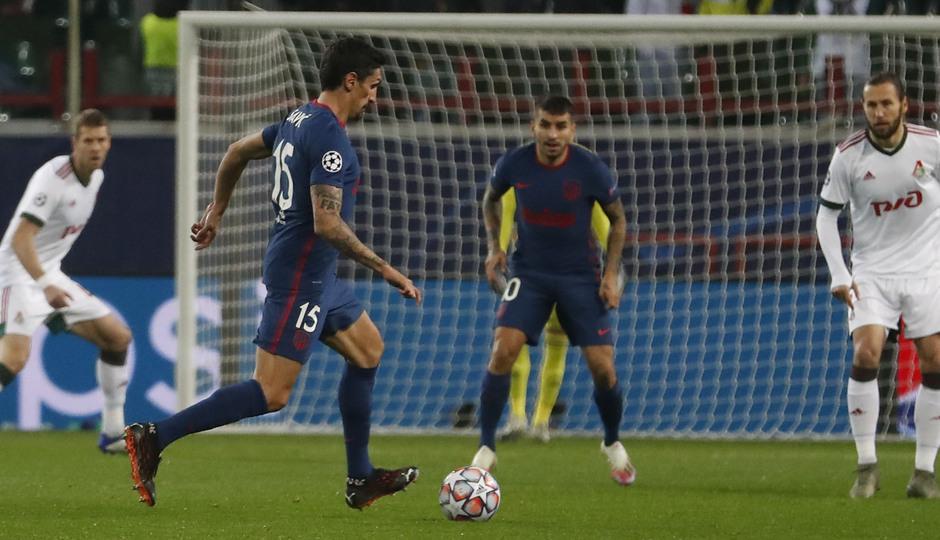 Temp. 2020-21 | Lokomotiv - Atlético de Madrid | Savic