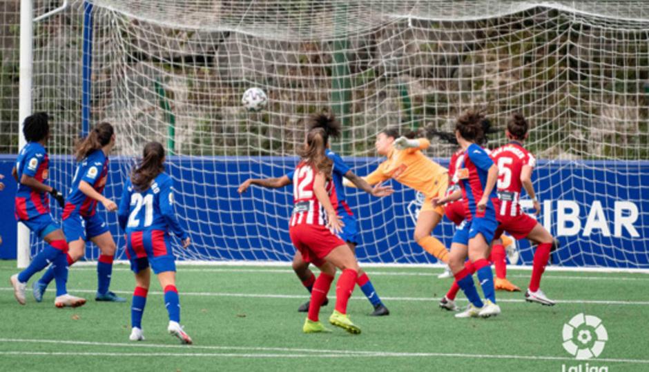 Temp. 20-21 | Eibar - Atlético de Madrid Femenino | Merel gol