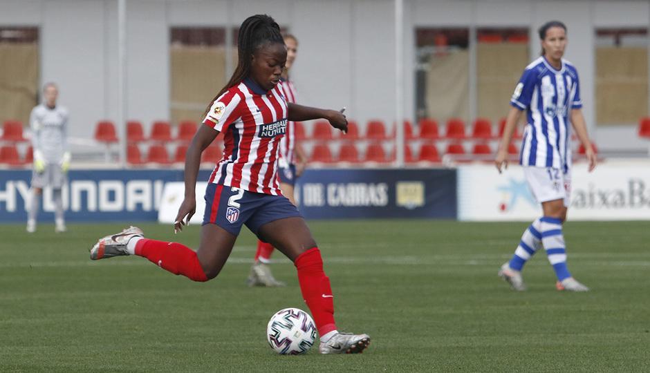Temporada 2020/21 | Atleti Femenino - Sporting de Huelva | Kazadi