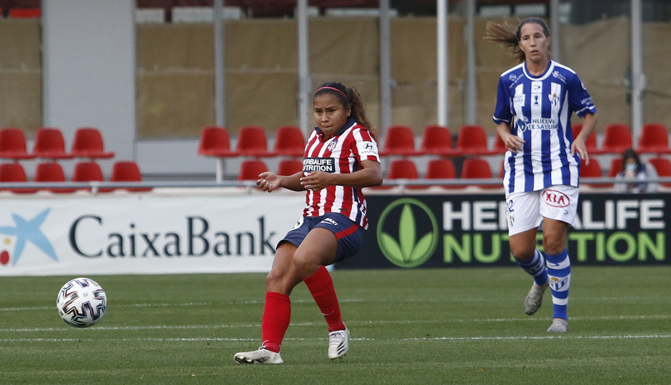 Temporada 2020/21 | Atleti Femenino - Sporting de Huelva | Leicy