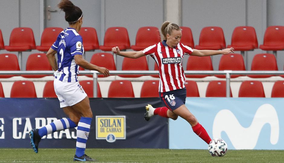 Temporada 2020/21 | Atleti Femenino - Sporting de Huelva | Toni Duggan