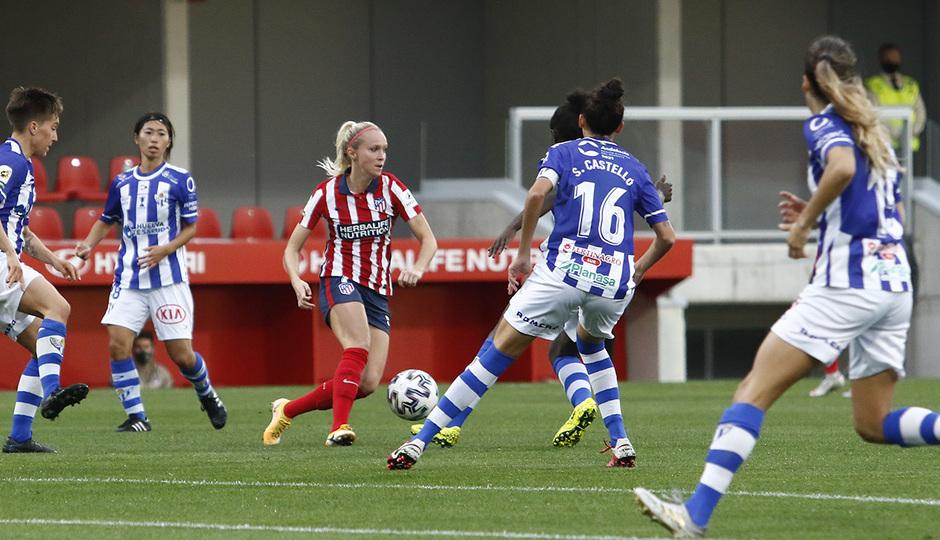 Temporada 2020/21 | Atleti Femenino - Sporting de Huelva | Turid Knaak
