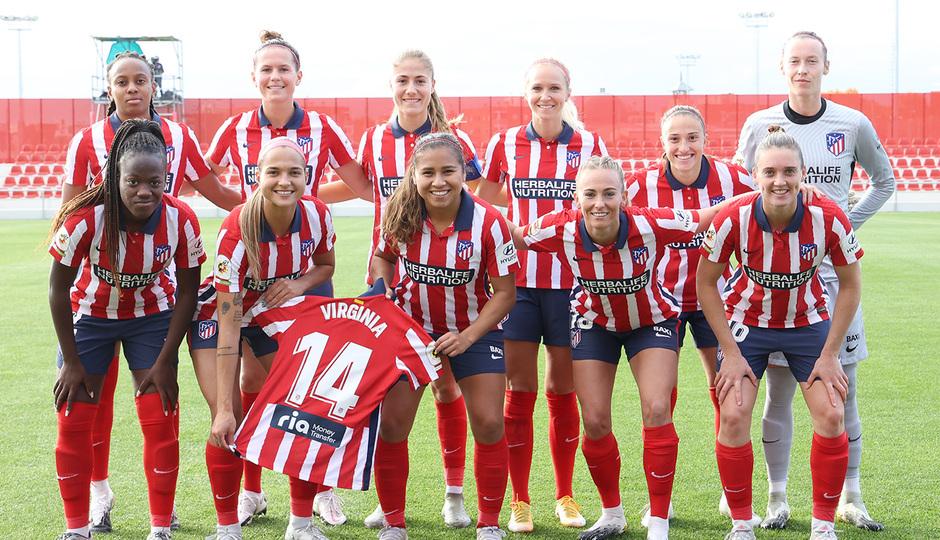 Temporada 2020/21 | Atleti Femenino - Sporting de Huelva | Once