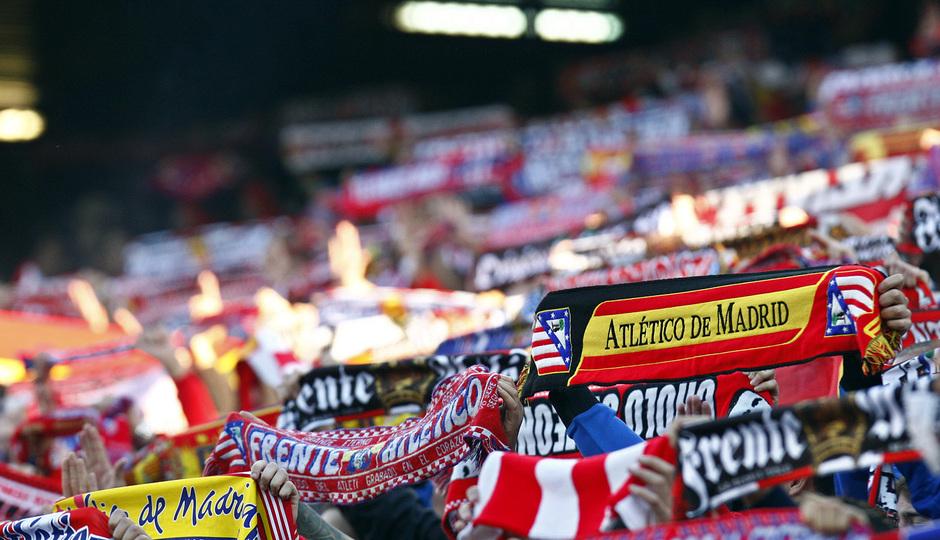 Temporada 20132-2014. Partido Atlético de Madrid- Bilbao, afición