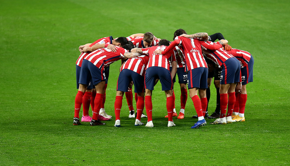 Antes del Atlético de Madrid - Cádiz LaLiga 2020 2021