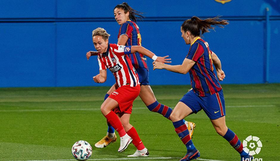 Temp. 20-21 | Barcelona-Atleti Femenino | Amanda