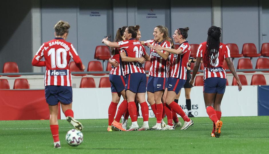 Temp 2020/21 | Atleti Femenino-Betis | Celebración 4-1