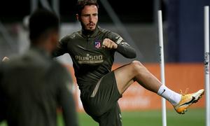 Temp. 20-21   Entrenamiento Atlético de Madrid   Saúl