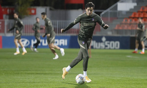 Temp. 20-21 | Entrenamiento Atlético de Madrid 19-11-2020 | Giménez