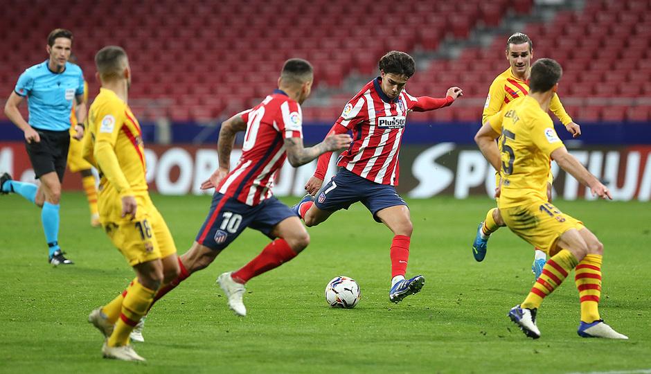 Temp. 20-21 | Atlético de Madrid - Barcelona | João Félix