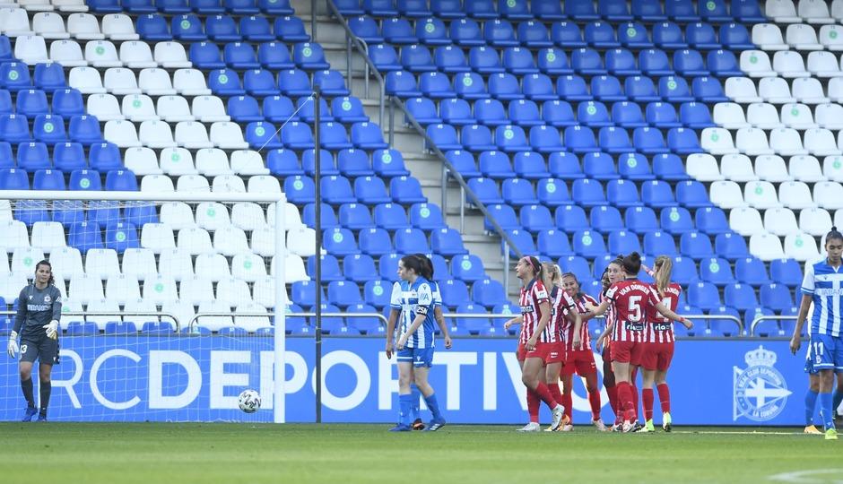 temporada 2020/21 | RC Deportivo - Atlético de Madrid Femenino | Gol