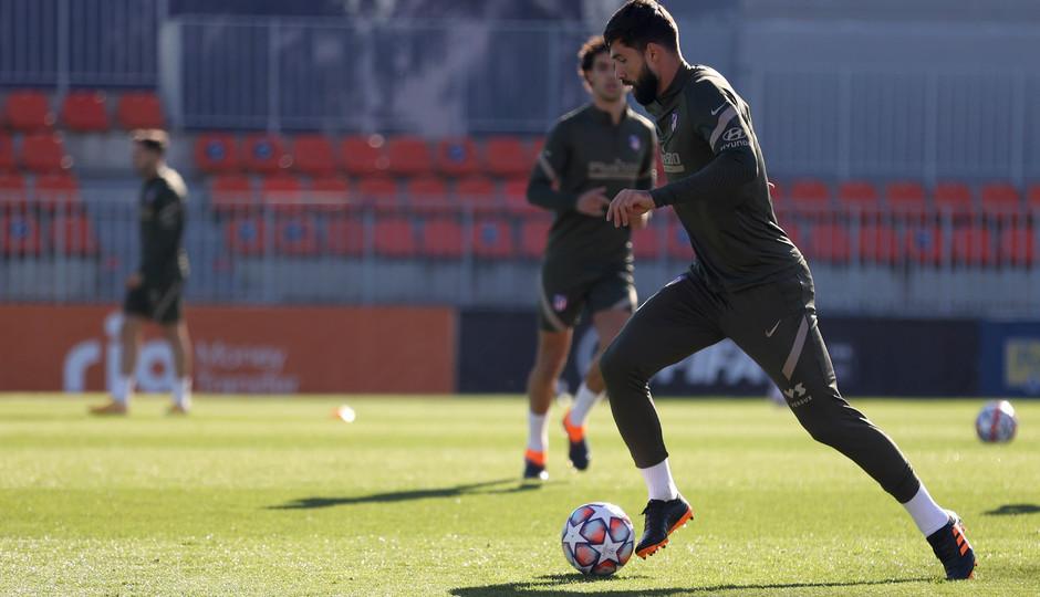Temp. 20-21 | Entrenamiento Atlético de Madrid | Felipe
