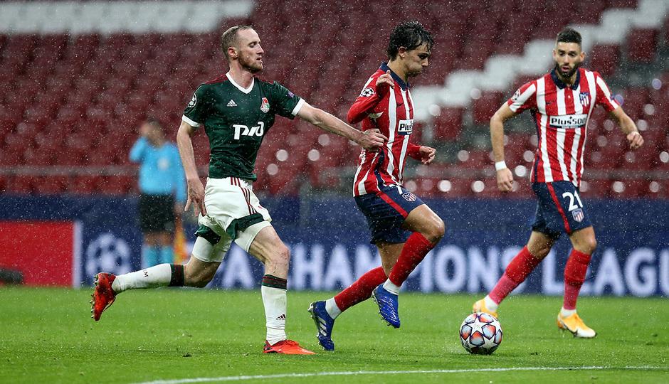 Temp. 20-21 | Atlético de Madrid - Lokomotiv | Joao Félix