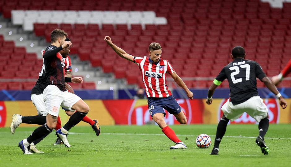 Temp. 20-21 | Atlético de Madrid - Bayern Munich | Llorente
