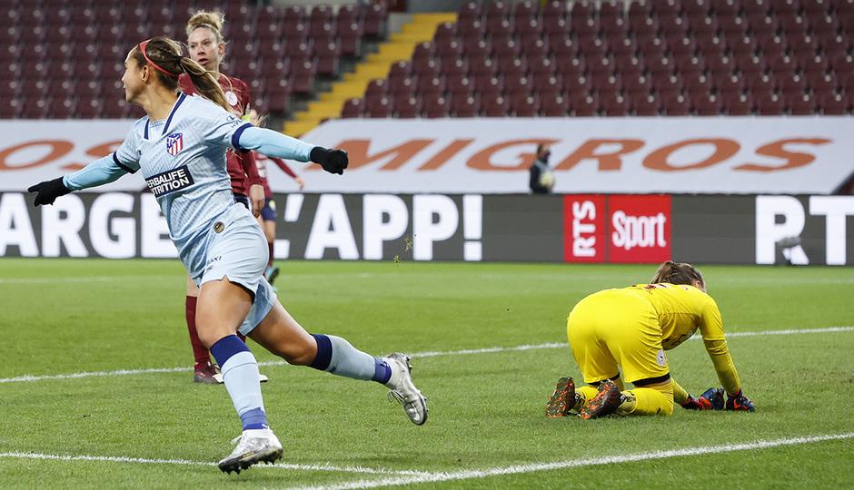 Temp. 20-21 | Servette- Atleti | Deyna gol