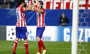 Atlético de Madrid - Austria Viena. Champions League