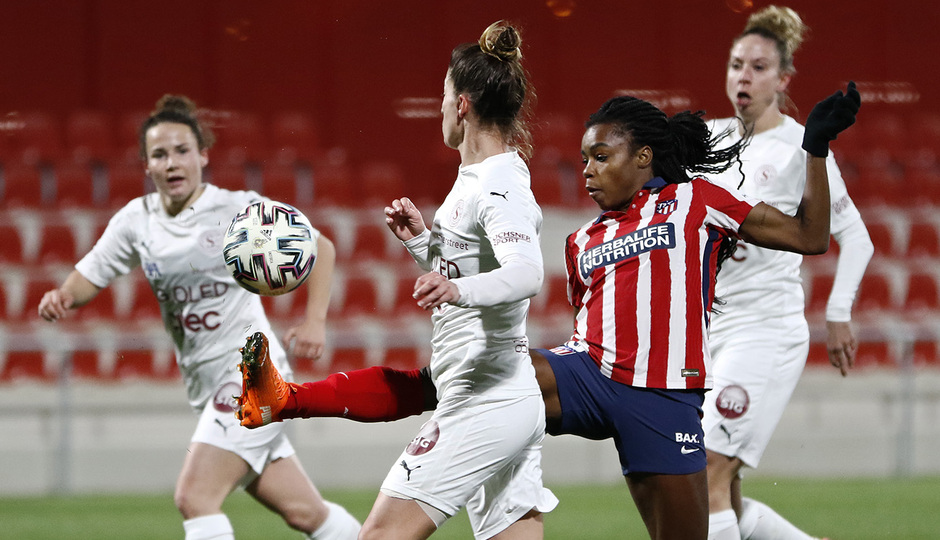 Temp. 2020/21 | Atlético Femenino-Servette | Ludmila