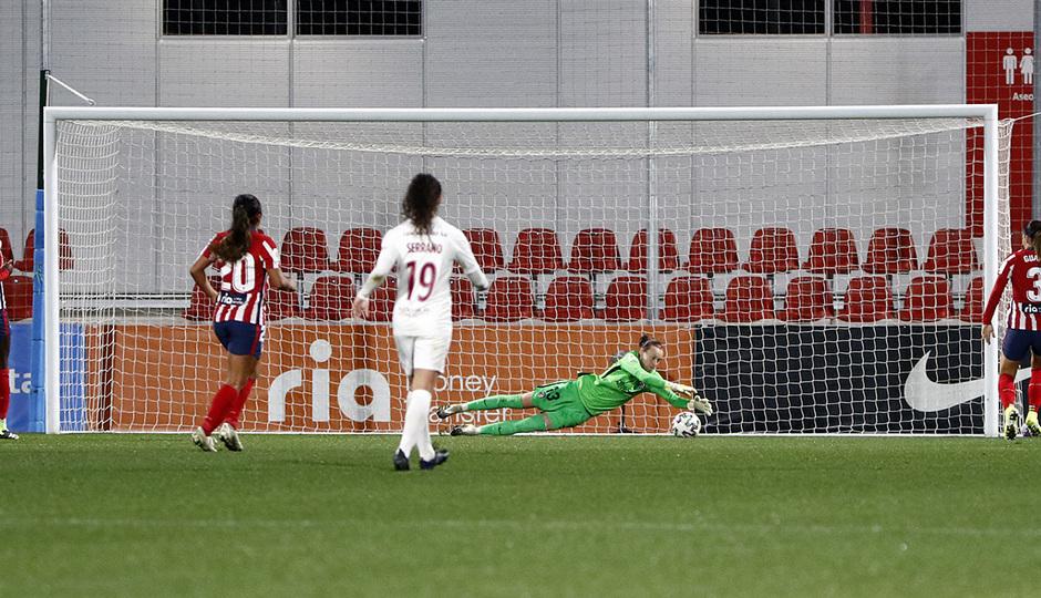 Temp. 2020/21 | Atlético Femenino-Servette | Pauline