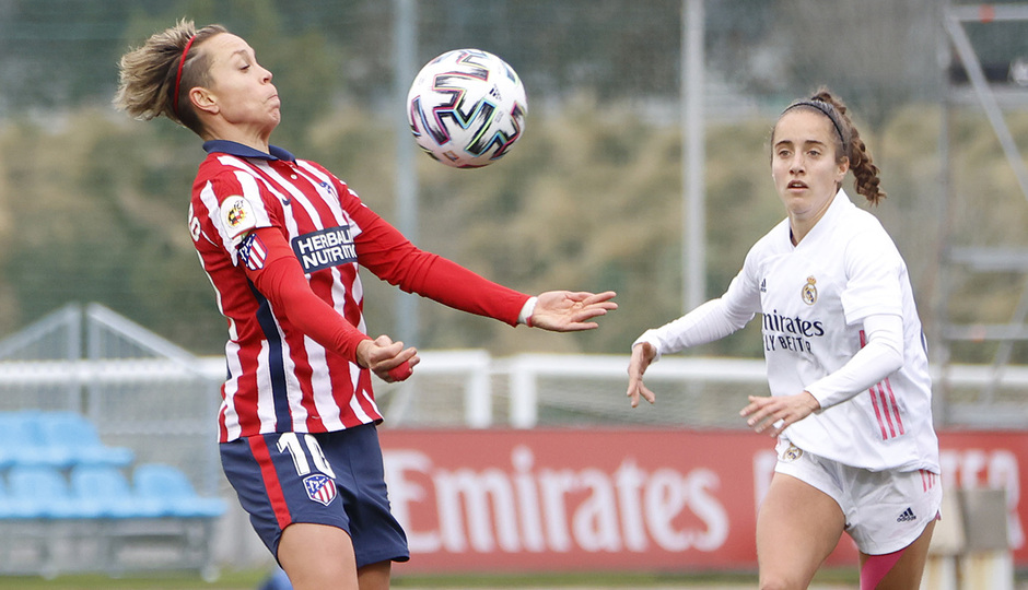 Temporada 2020/21 | Real Madrid-Atleti | Amanda