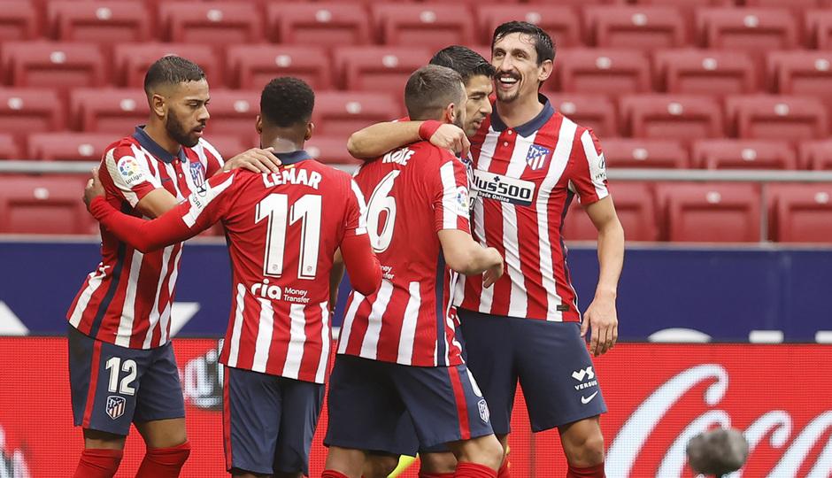 Temporada 2020/21 | Atlético de Madrid - Elche | Celebración del gol