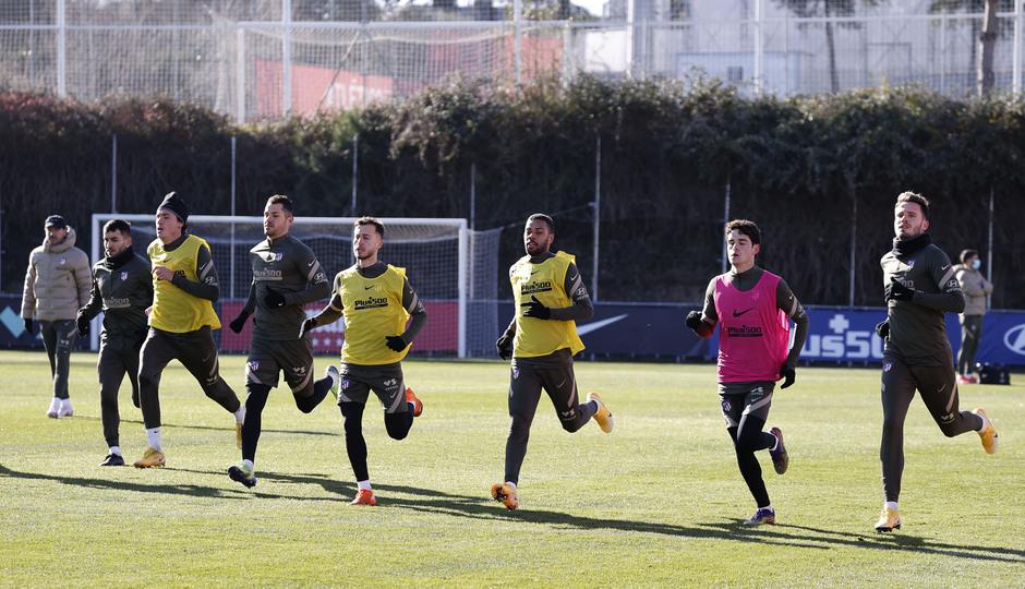 Temp. 20-21   Entrenamiento Atlético de Madrid  