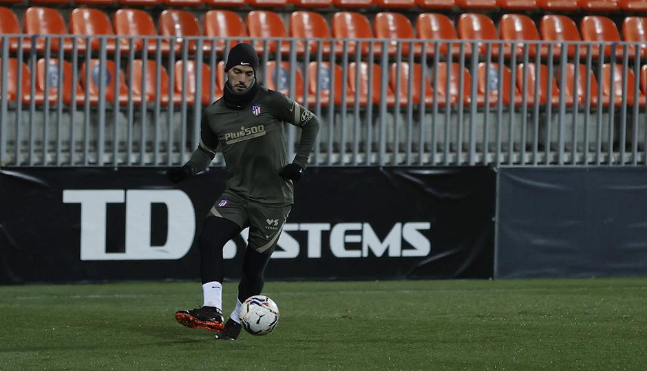 Temp. 20-21 | Primer entrenamiento 1 de enero Atlético de Madrid | Luis Suárez