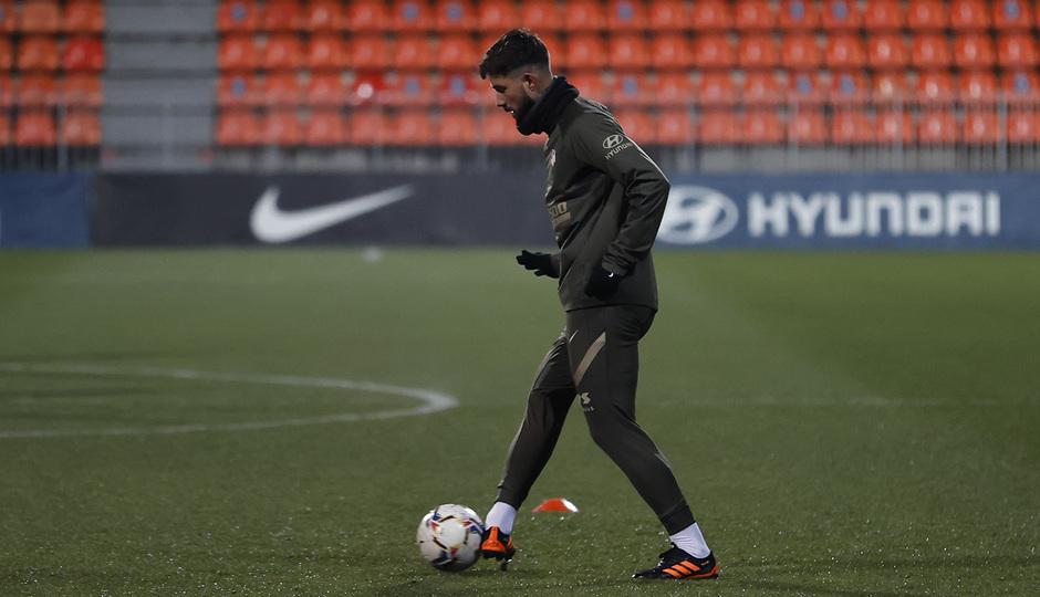 Temp. 20-21 | Primer entrenamiento 1 de enero Atlético de Madrid | Felipe