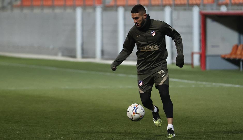 Temp. 20-21 | Primer entrenamiento 1 de enero Atlético de Madrid | Koke
