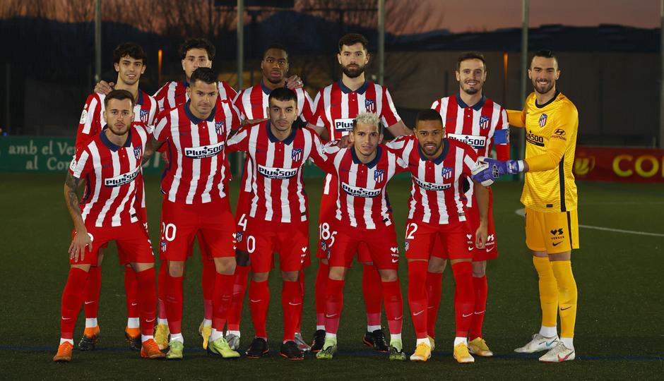 Temp. 20-21 | Copa del Rey | Cornellà-Atlético de Madrid | Once