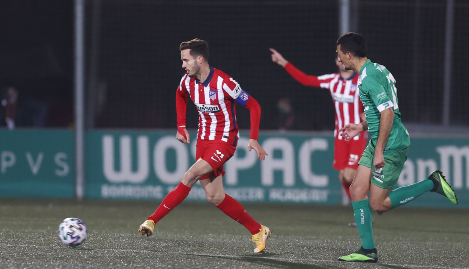 Temp. 20-21 | Copa del Rey | Cornellà-Atlético de Madrid | Saúl