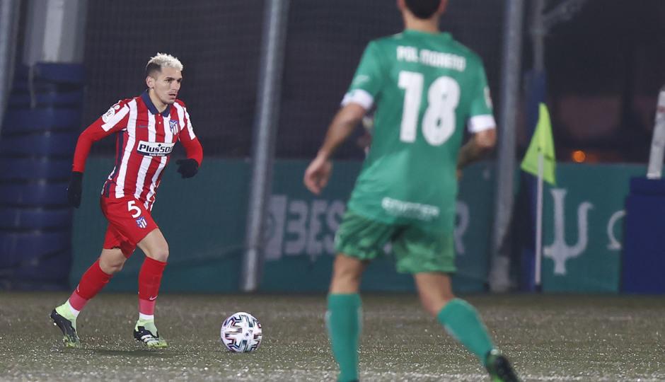 Temp. 20-21 | Copa del Rey | Cornellà-Atlético de Madrid | Torreira