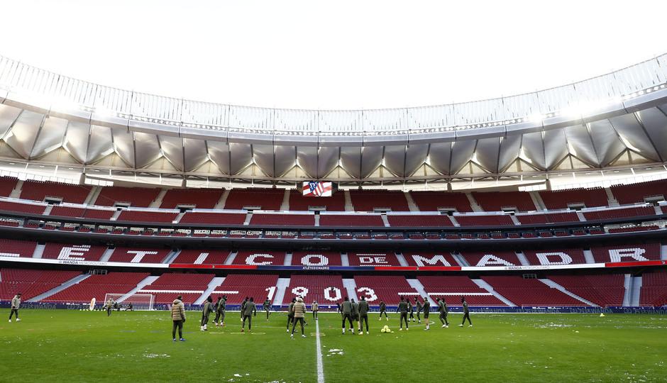Temp. 20-21 | Entrenamiento en el Wanda Metropolitano |