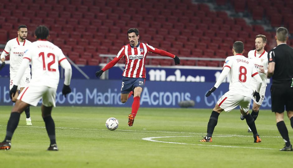 Temporada 20/21 | Atleti - Sevilla | Savic