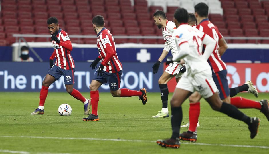 Temporada 20/21   Atleti - Sevilla   Lemar