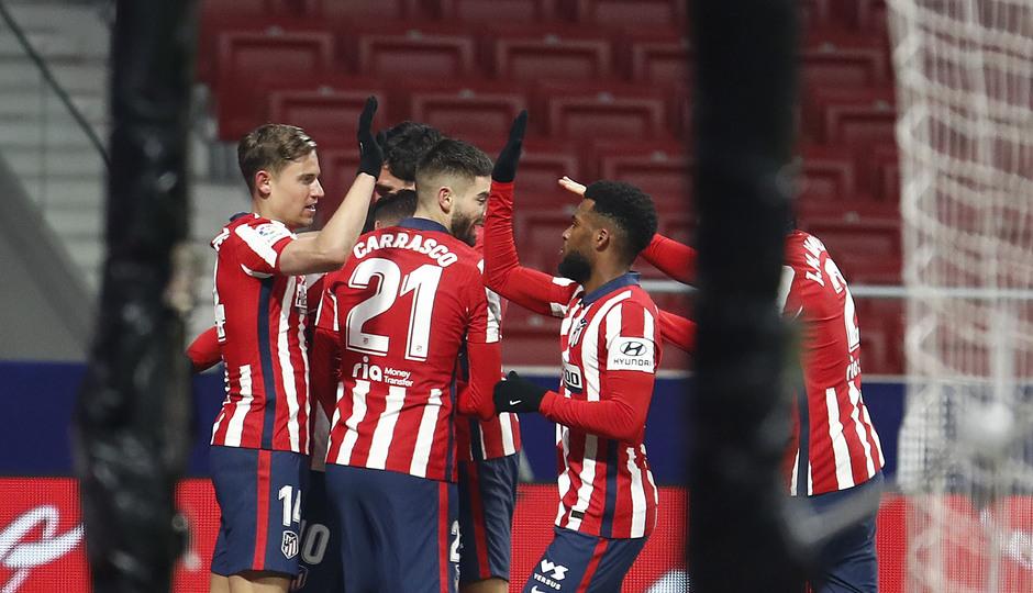 Temporada 20/21 | Atleti - Sevilla | Gol