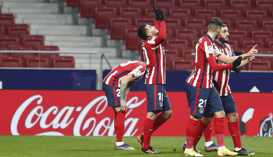 Temporada 20/21   Atleti - Sevilla   Correa